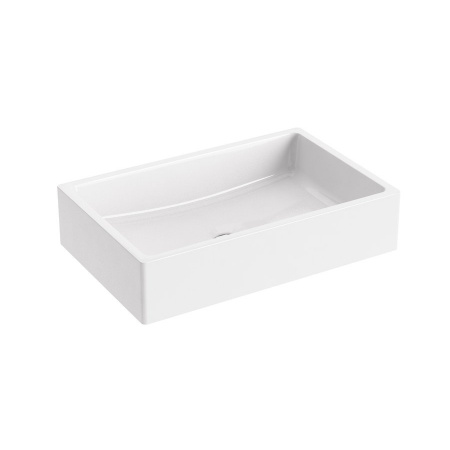 Ravak Formy 01 Umywalka nablatowa 60x39x14 cm, biała XJL01260000