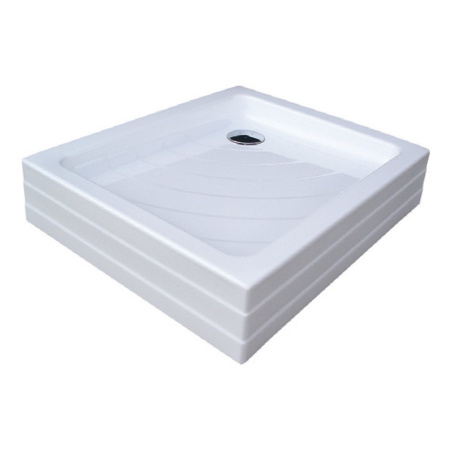 Ravak Kaskada Aneta EX Brodzik prostokątny 75,5x90x18,5 cm akrylowy, biały A003701320