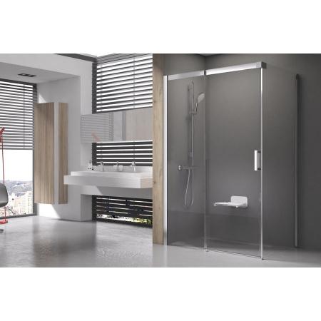 Ravak Matrix MSDPS Kabina prysznicowa prostokątna 100x80x195 cm lewa, profile aluminium szkło przezroczyste 0WLA4C00Z1