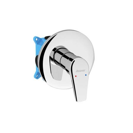 Ravak Neo Jednouchwytowa bateria wannowo-prysznicowa podtynkowa, chrom X070044