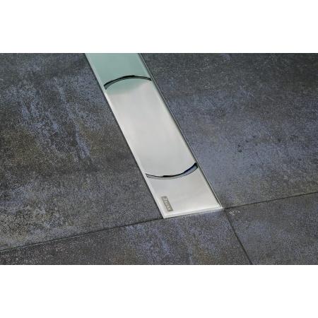Ravak Chrome Odpływ liniowy 105 cm, stal nierdzewna X01429