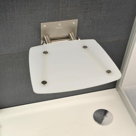 Ravak OVO-B Siedzisko Opal 36x36 cm, stalowy, opal B8F0000016
