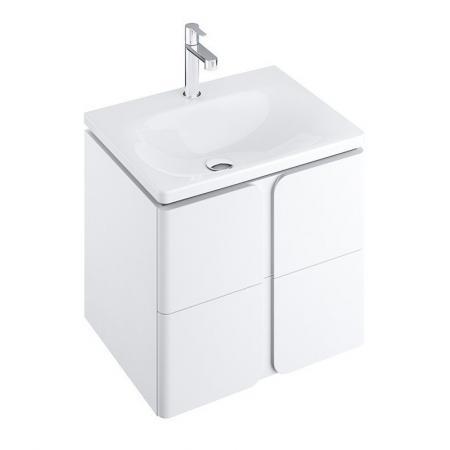 Ravak SD Balance Szafka podumywalkowa 50x46,5x50 cm biała X000001364