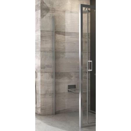 Ravak SmartLine BLPSZ-80 Ścianka prysznicowa stała 80x190 cm, profile aluminium szkło przezroczyste X93H40C00Z1