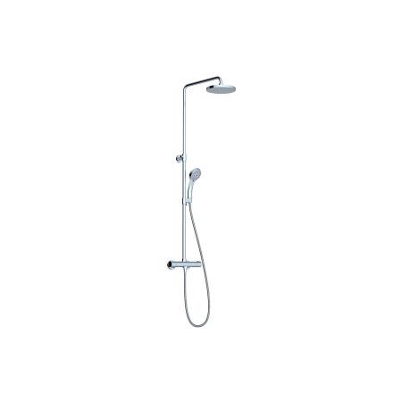 Ravak Termo Zestaw prysznicowy natynkowy z deszczownicą chrom X070058