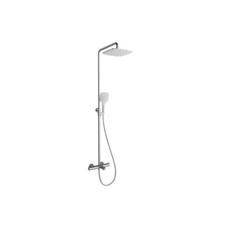 Ravak Termo Zestaw prysznicowy natynkowy z deszczownicą chrom X070098