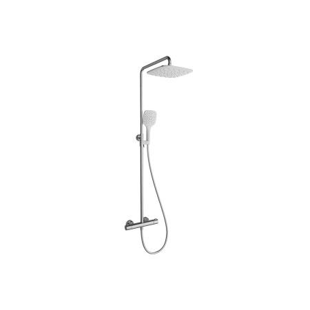 Ravak Termo Zestaw prysznicowy natynkowy z deszczownicą chrom X070099