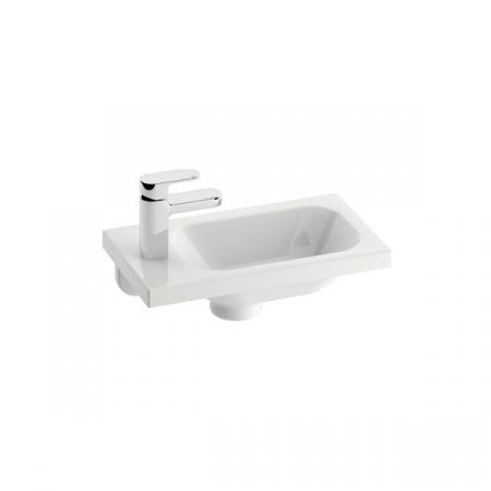 Ravak Chrome Umywalka wisząca 40x22x12 cm, biała XJGL1100000
