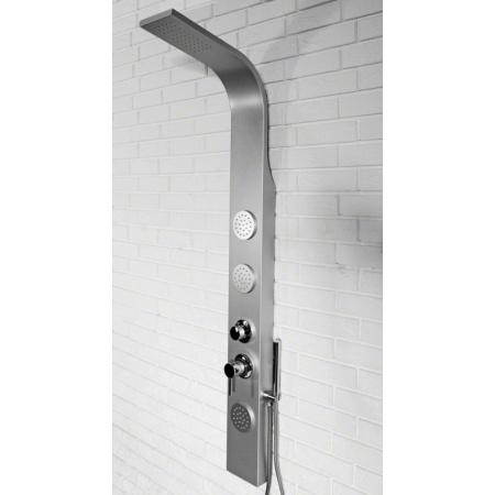 Rea 8721 Panel natryskowy aluminiowy, satyna REA-P0045
