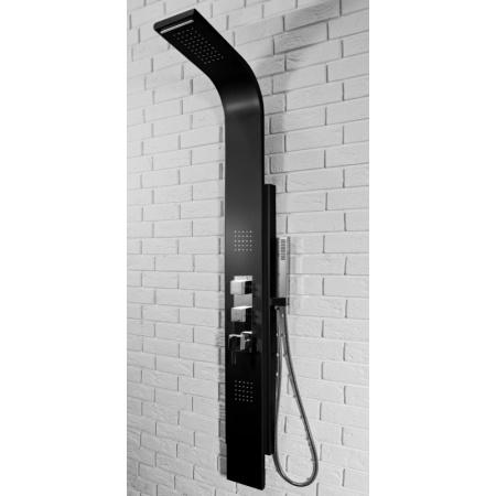 Rea 8725 Panel natryskowy aluminiowy, czarny REA-P0067