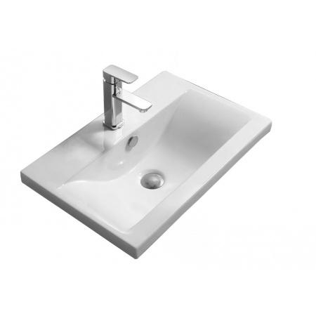 Rea Amy 50 Umywalka wpuszczana 51x39,5 cm, biała REA-U0879