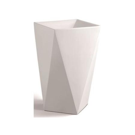 Rea Natalia Umywalka wolnostojaca 50,5x50,5x84 cm, biała REA-U9904