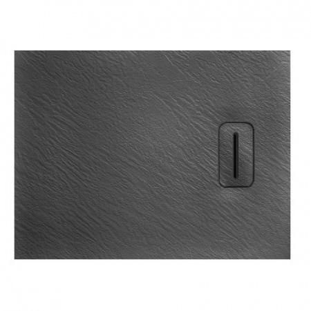 Rea Stone Brodzik prostokątny kamienny 80x120 cm, grafitowy REA-K5302
