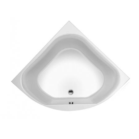 Riho Atlanta Wanna narożna symetryczna z hydromasażem AIR prawa 140x140 cm, biała BB70005A1GH1003