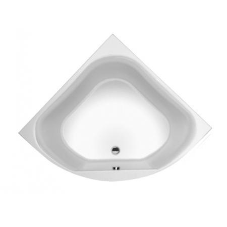 Riho Atlanta Wanna narożna symetryczna z hydromasażem FLOW prawa 140x140 cm, biała BB70005F1GF1003