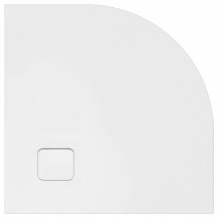 Riho Basel Brodzik półokrągły 90x90x4,5 cm, biały DC98