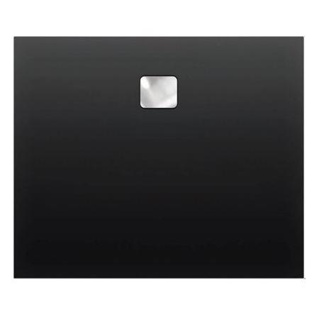 Riho Basel Brodzik prostokątny 100x80x4,5 cm, czarny mat DC1417