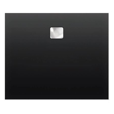 Riho Basel Brodzik prostokątny 100x80x4,5 cm, czarny połysk DC1416