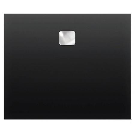 Riho Basel Brodzik prostokątny 100x90x4,5 cm, czarny połysk DC2416