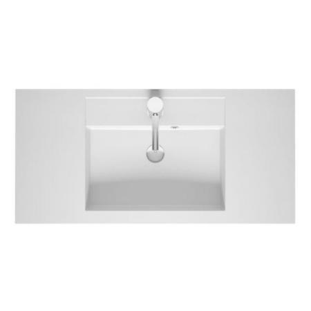 Riho Bologna Umywalka meblowa 100x48 cm biały połysk F7BO1100481113
