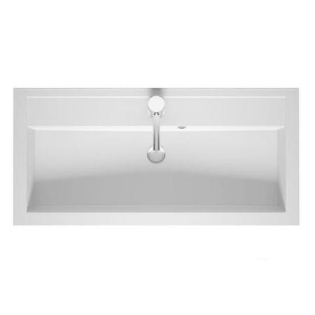 Riho Bologna Umywalka meblowa 100x48 cm biały połysk F7BO110048111