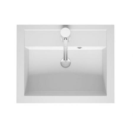 Riho Bologna Umywalka meblowa 60x48 cm biały połysk F7BO106048111