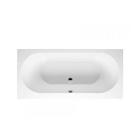 Riho Carolina Wanna prostokątna z hydromasażem FLOW prawa 180x80 cm akrylowa, biała BB54005F1GF1003