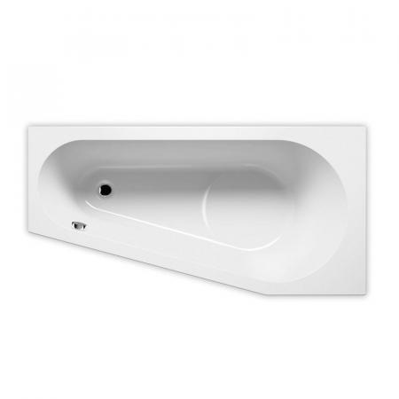 Riho Delta Plug & Play Wanna wolnostojąca narożna lewa 160x80 cm biała BD43005