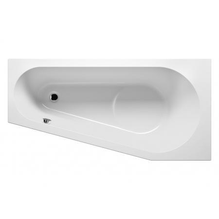 Riho Delta Wanna narożna asymetryczna z hydromasażem AIR lewa 160x80 cm, biała BB83005A1GH1009