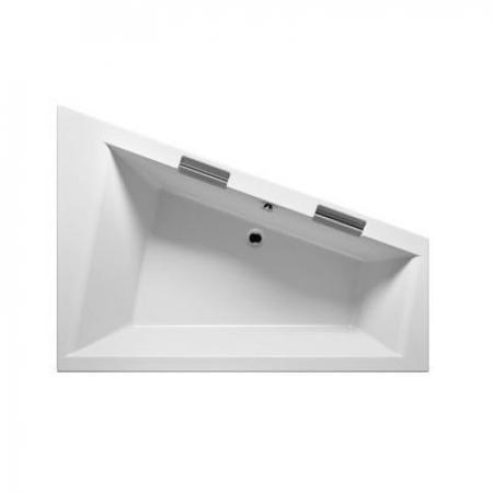 Riho Doppio Plug & Play Wanna wolnostojąca narożna lewa 180x130 cm biała BD45005