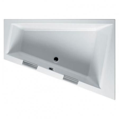Riho Doppio Wanna narożna asymetryczna 180x130 cm akrylowa lewa, biała BA91