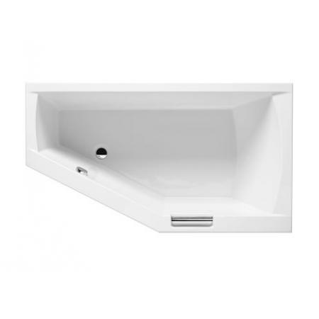 Riho Geta Wanna narożna asymetryczna z hydromasażem FLOW lewa 160x90 cm akrylowa, biała BA87005F1GF1009