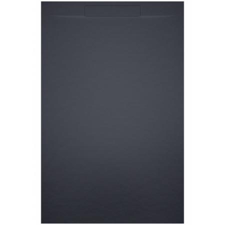 Riho Isola Brodzik prostokątny 120x80 cm antracyt mat DR16080