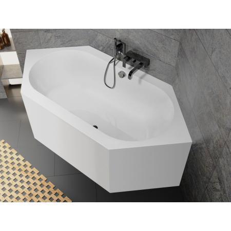Riho Kansas Plug & Play Wanna narożna symetryczna 190x90 cm biała BD50005