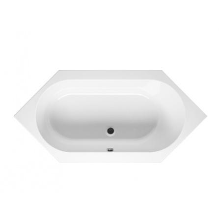 Riho Kansas Wanna narożna symetryczna 190x90x48,5 cm akrylowa, biała BA97