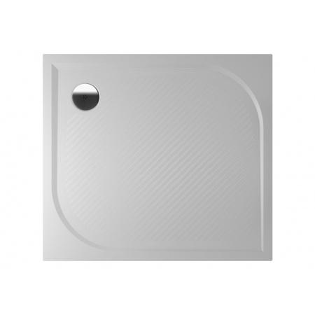Riho Kolping Brodzik prostokątny 100x80x3 cm marmur syntetyczny, biały DB31