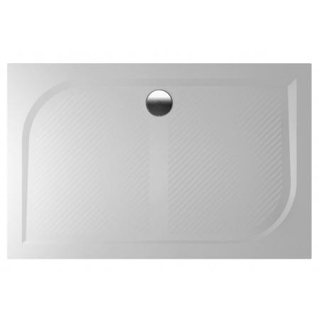Riho Kolping Brodzik prostokątny 140x90x3 cm marmur syntetyczny, biały DB36