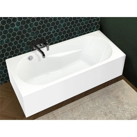 Riho Lazy Plug & Play Wanna prostokątna narożna lewa 170x75 cm biała BD80005