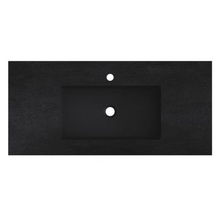 Riho Livit Stone Slim Umywalka meblowa 100,3x46 cm czarny mat F70055