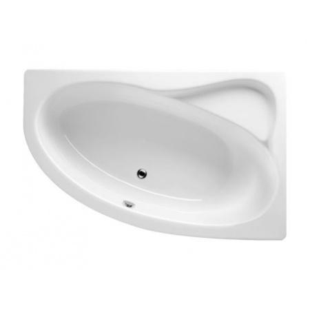 Riho Lyra Wanna narożna asymetryczna 153,5x100,5 cm akrylowa lewa, biała BA68