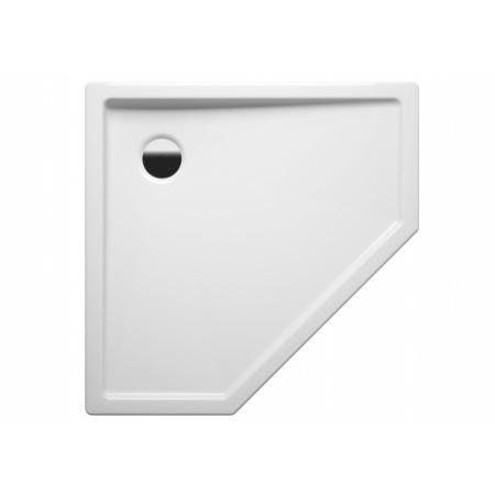 Riho 215 Brodzik pentagonalny 100x100x3,5 cm akrylowy, biały DA26