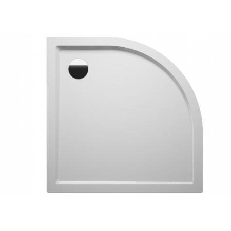 Riho Davos Brodzik półokrągły 80x80x4,5 cm, biały DA87