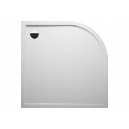 Riho Zurich Brodzik półokrągły 120x120x4,5 cm, biały DA96