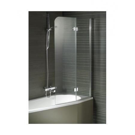 Riho Nautic N500 Parawan nawannowy do wanny Delta 150/160 89,1x150 cm, szkło przezroczyste GGT0220891800