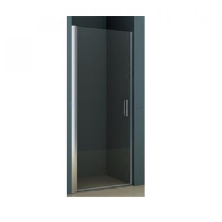 Riho Novik Z101 Drzwi prysznicowe uchylne 80x200 cm profile aluminiowe szkło przezroczyste z powłoką Riho Shield GZ1080000