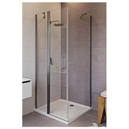 Riho Novik Z203 Kabina prysznicowa prostokątna 90x80x200 cm profile aluminiowe szkło przezroczyste z powłoką Riho Shield GZ7090080