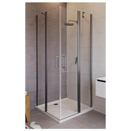 Riho Novik Z207 Kabina prysznicowa prostokątna 90x90x200 cm profile aluminiowe szkło przezroczyste z powłoką Riho Shield GZ3090090