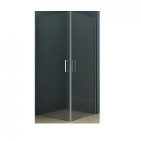 Riho Novik Z209 Kabina prysznicowa prostokątna 80x100x200 cm profile aluminiowe szkło przezroczyste z powłoką Riho Shield GZ2080100