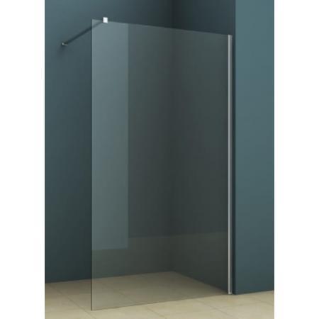 Riho Novik Z400 Kabina prysznicowa Walk-in 100x200 cm profile aluminiowe szkło przezroczyste z powłoką Riho Shield GZ4100000