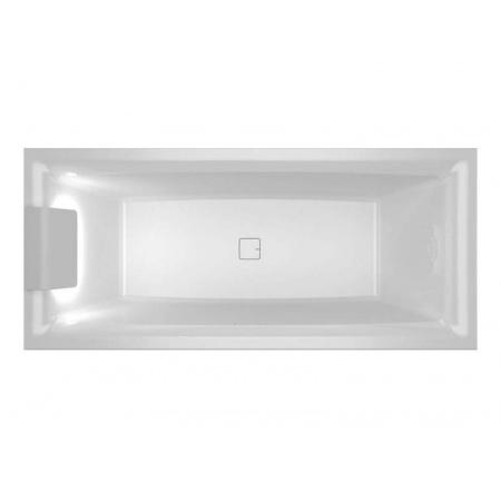 Riho Still Square LED 170x75 cm Wanna prostokątna z oświetleniem LED po lewej stronie, biała BR0200500K00131